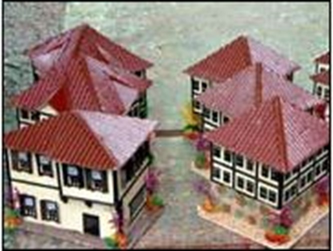 Safranbolu evleri maketlerde yaşıyor